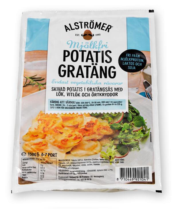 laktosfri potatisgratäng färdig