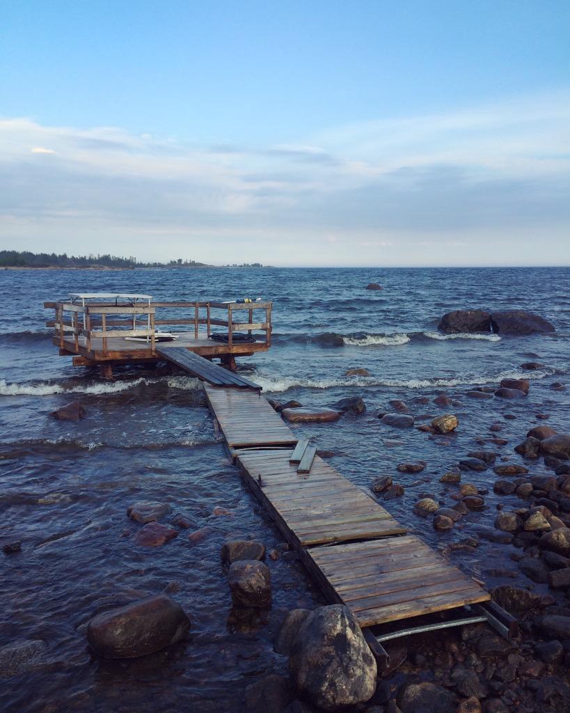 Båtbrygga helalf.se