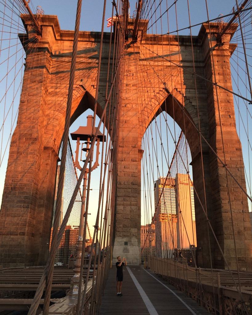 Brooklyn bridge soluppgången helalf.se