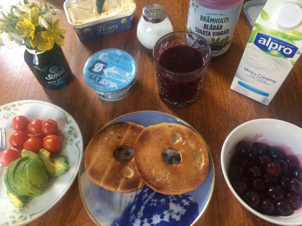 Vegansk frukost